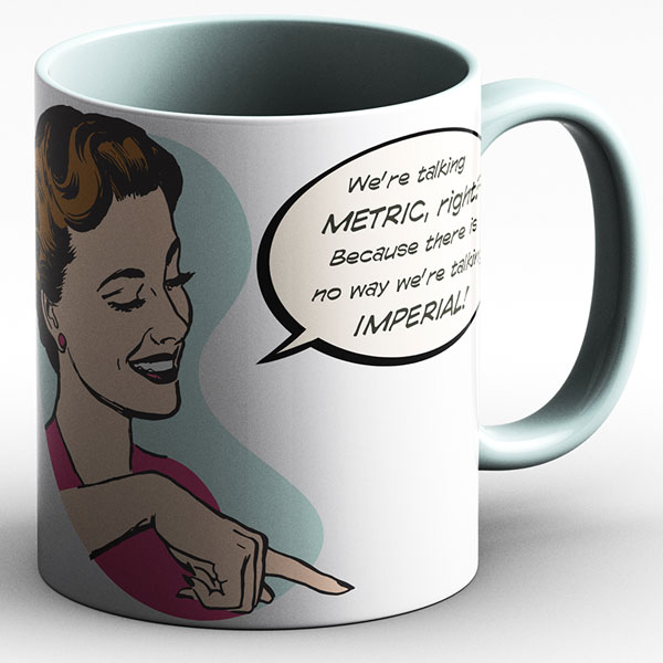 Measuring Up Mug